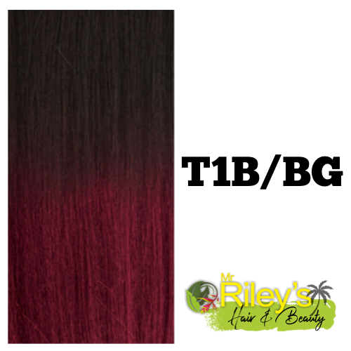 "Instant Pony - French Wave 30"" t1b/bg burgundy"