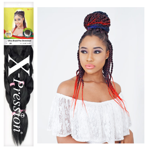 X-Pressions Ultra Braid Pre-stretched Hair