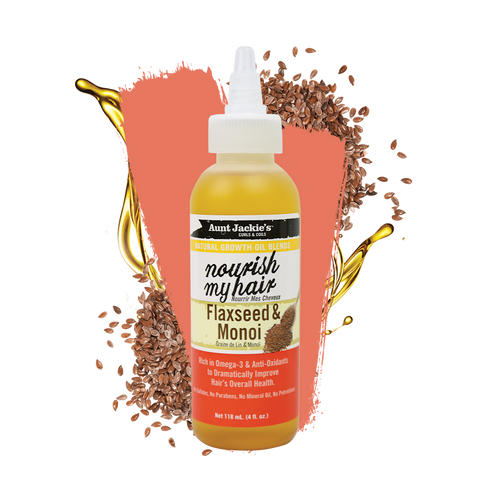 Aunt Jackie's Nourish My Hair – Flaxseed & Monoi