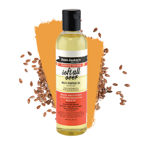 Aunt Jackie's Soft All Over – Multi-purpose Oil 8oz