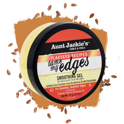 Aunt Jackie's Flaxseed Tame My Edges Smoothing Gel 2.5oz