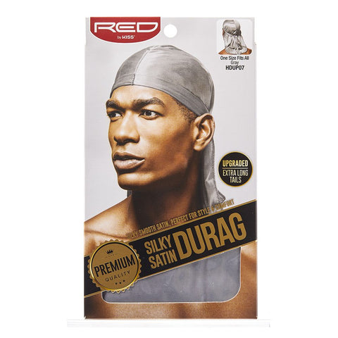 Silky Satin Durag - Grey