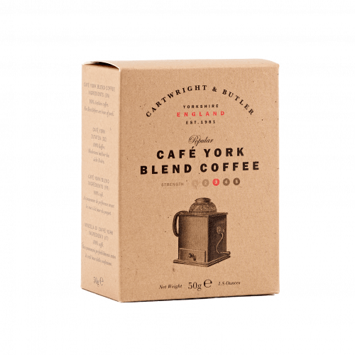 CAFÉ YORK BLEND COFFEE CARTON 50G