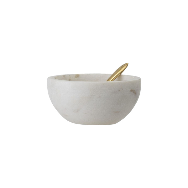 CONDIMENT BOWL WITH SPOON