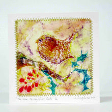 Load image into Gallery viewer, Hand made Card The Wren