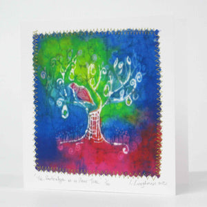 Hand made Card A Partridge In A Pear Tree