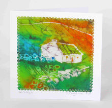"Load image into Gallery viewer, Hand made Card "" The Green Cottage """