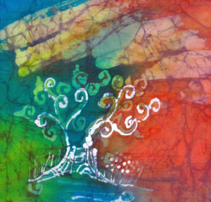 Tree of Life Red and Green