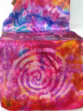 Load image into Gallery viewer, Silk Satin Scarf Pink Celtic Sunset