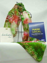 Load image into Gallery viewer, A Large Silk Shawl Celtic Crab Apple