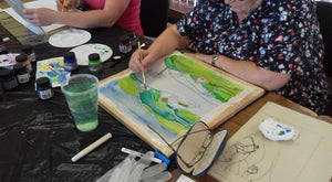 Silk Painting Taster Work Shop