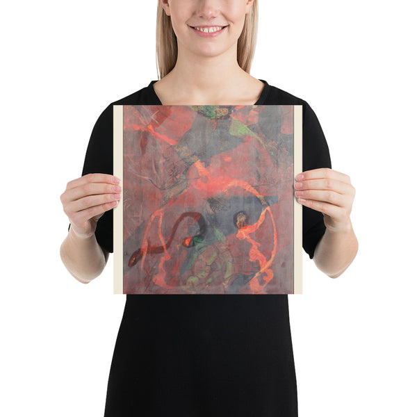 Abstract Painting Photo paper poster