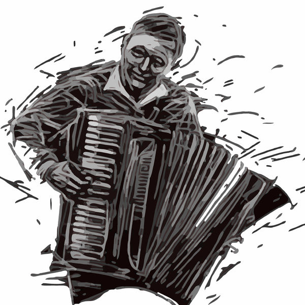 Musician With The Accordion