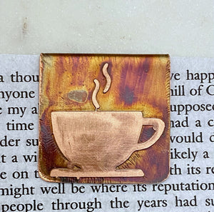 Copper cup bookmark