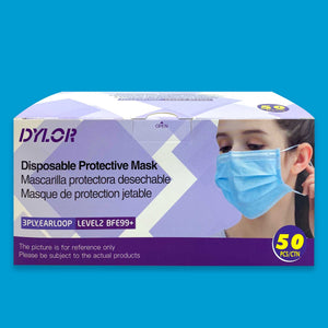 LEVEL 2 Surgical Mask [50 COUNT]