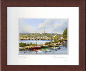 Boats at Anchor, Killaloe