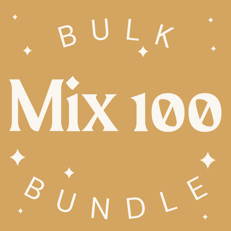 100 Item Bulk Bundle - Mixed Womens + Mens - Fashion Without Trashin