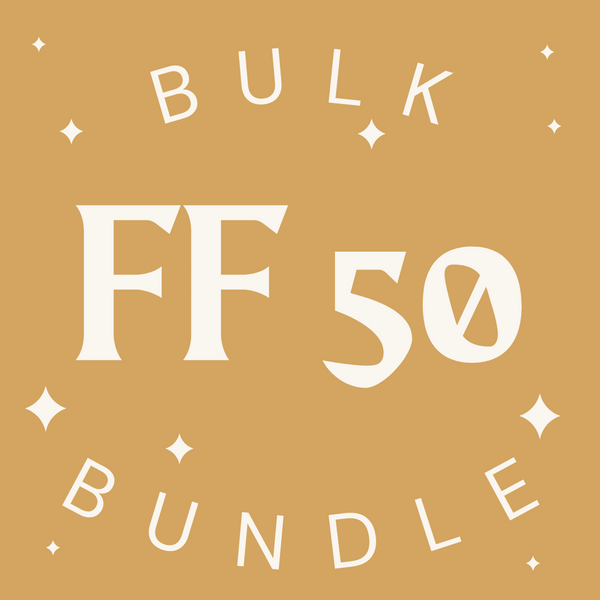 Fast Fashion 50 Item Bulk Bundle - Fashion Without Trashin