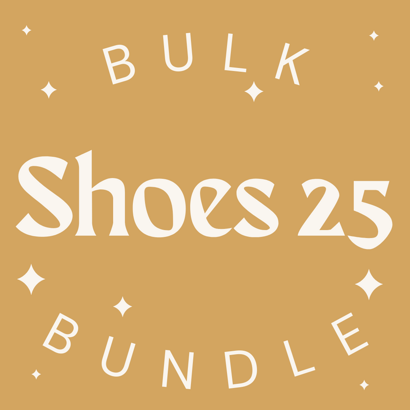 Shoes 25 Item Bulk Bundle