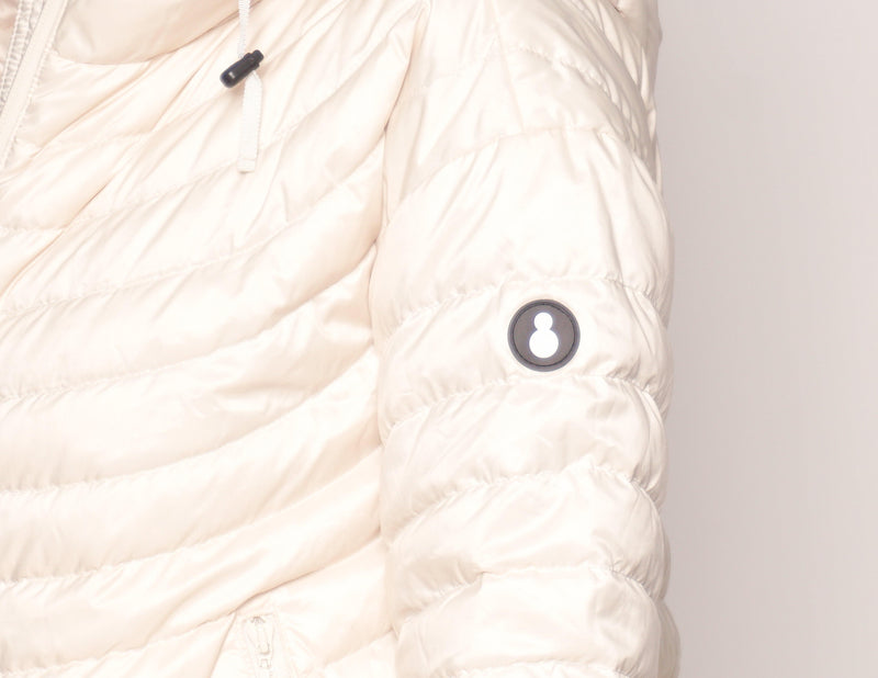 SNOWMAN New York Cream Down Puffer Jacket - Fashion Without Trashin