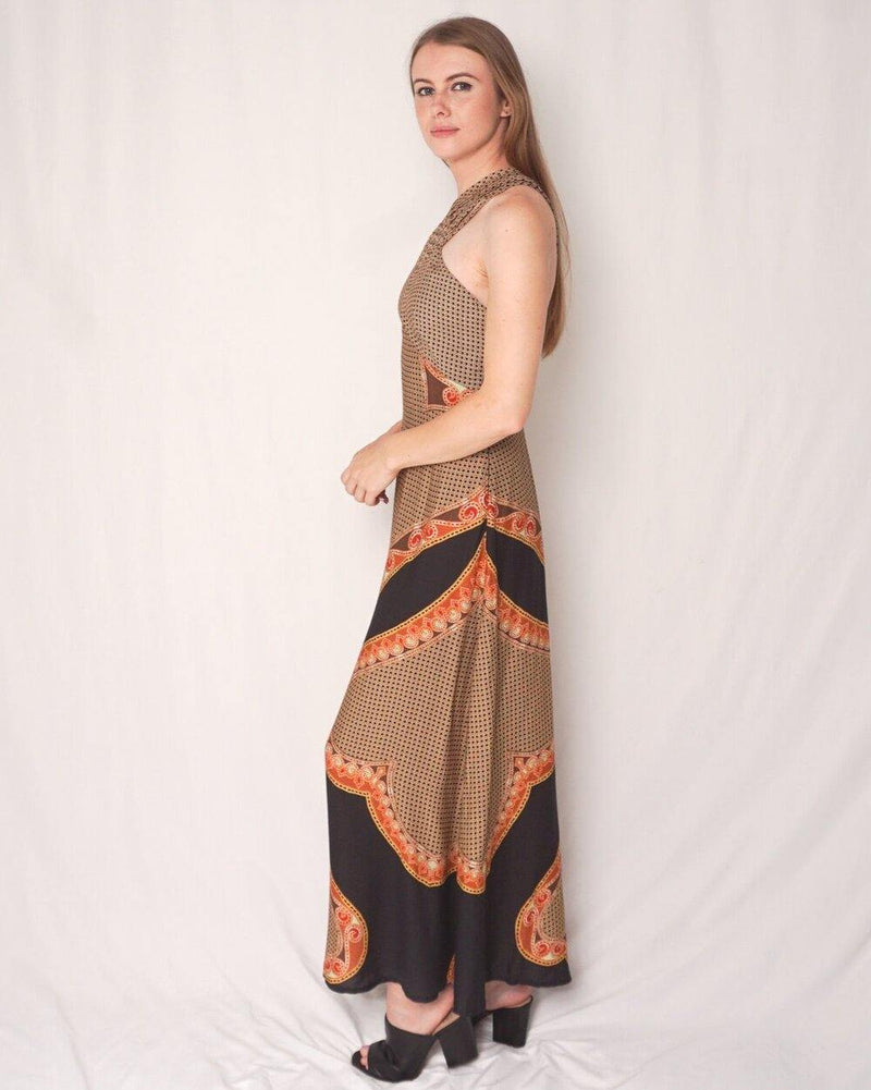 FARM Rio Halter Neck Maxi Dress (Size S) - Fashion Without Trashin