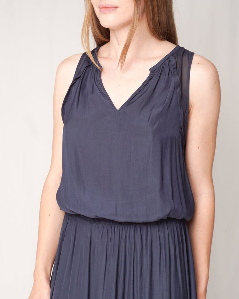 Ramy Brook Slate Blue Sleeveless Dress (Size S)
