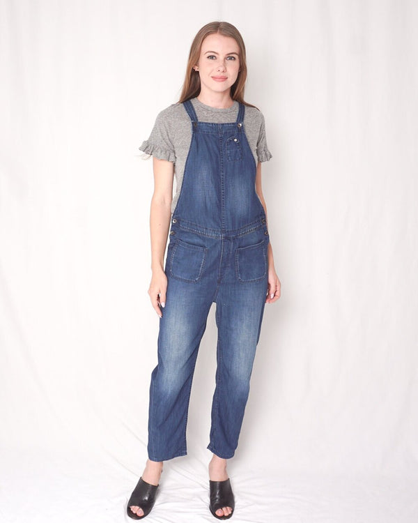 Maison Scotch (Scotch And Soda) Denim Overalls (Size P'tite)