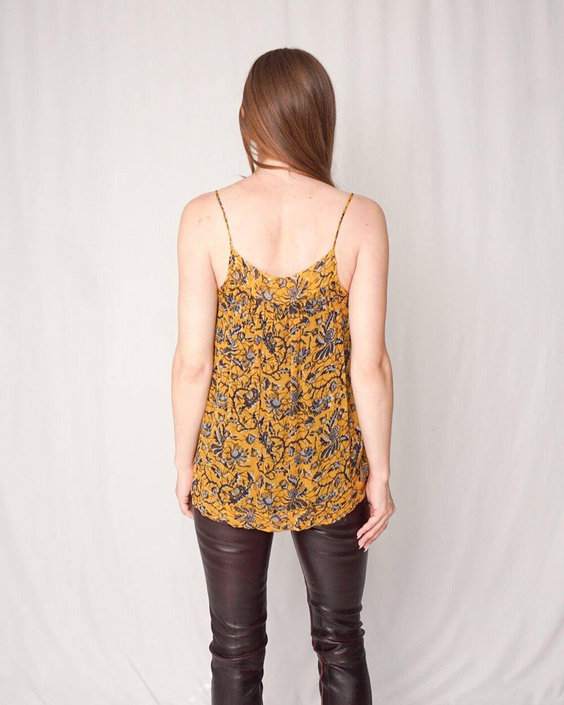 Isabel Marant Étoile Floral Tile Top (Size 38) - Fashion Without Trashin