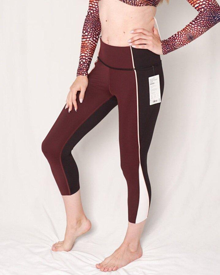 "Athleta ""Velocity"" Stash Pocket Capri Legging (Size S) - Fashion Without Trashin"