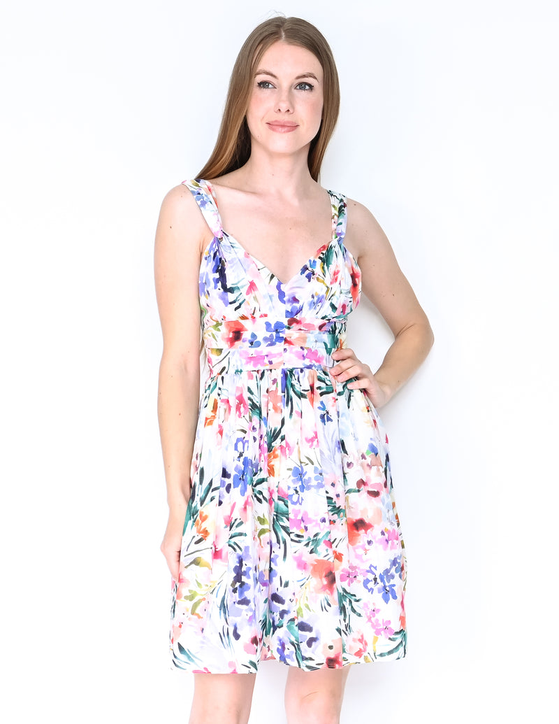 AMANDA UPRICHARD Floral Naples Mini Dress NWT (Size S)