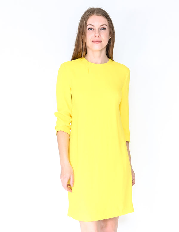 RALPH LAUREN Collection Yellow Shift Dress NWT (Size 6)