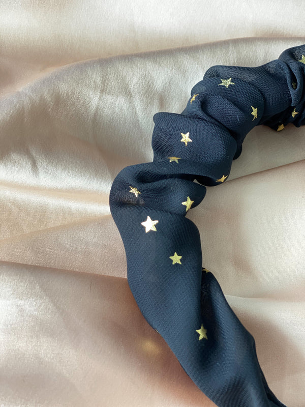 FWT x FBN Celestial Black Classic Crown with Gold Stars Print