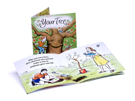 """Your Tree"" Keepsake story book"
