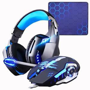 LED Gaming Headset and Mouse