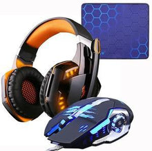 Load image into Gallery viewer, LED Gaming Headset and Mouse
