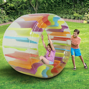 Inflatable Roller Ball Toy Grass Water Roller Children Multifunctional Crawling Roller Puzzle Parent-child