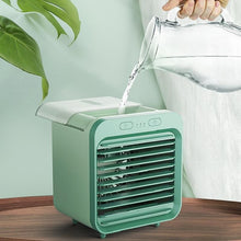 Load image into Gallery viewer, Rechargeable Water-Cooled Portable Air Conditioner