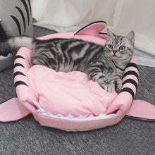 Load image into Gallery viewer, Shark Cat Bed
