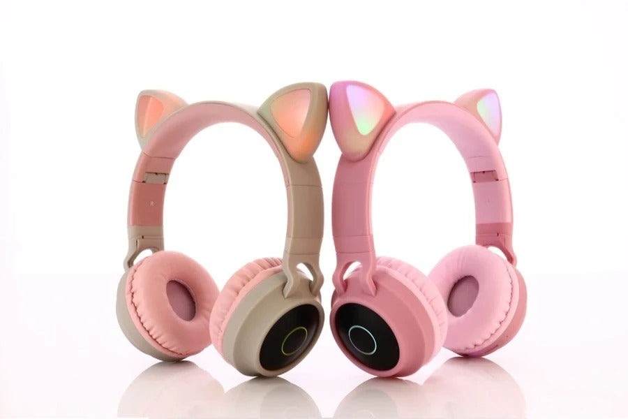 Wireless Cat Ear Noise Cancelling Headphines