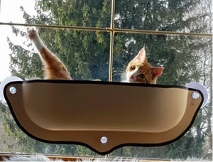 Cat Window Perch - Cat Window Seat Bed