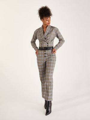 Mila Plaid Pant