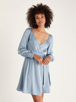 Load image into Gallery viewer, Caroline Wrap Dress