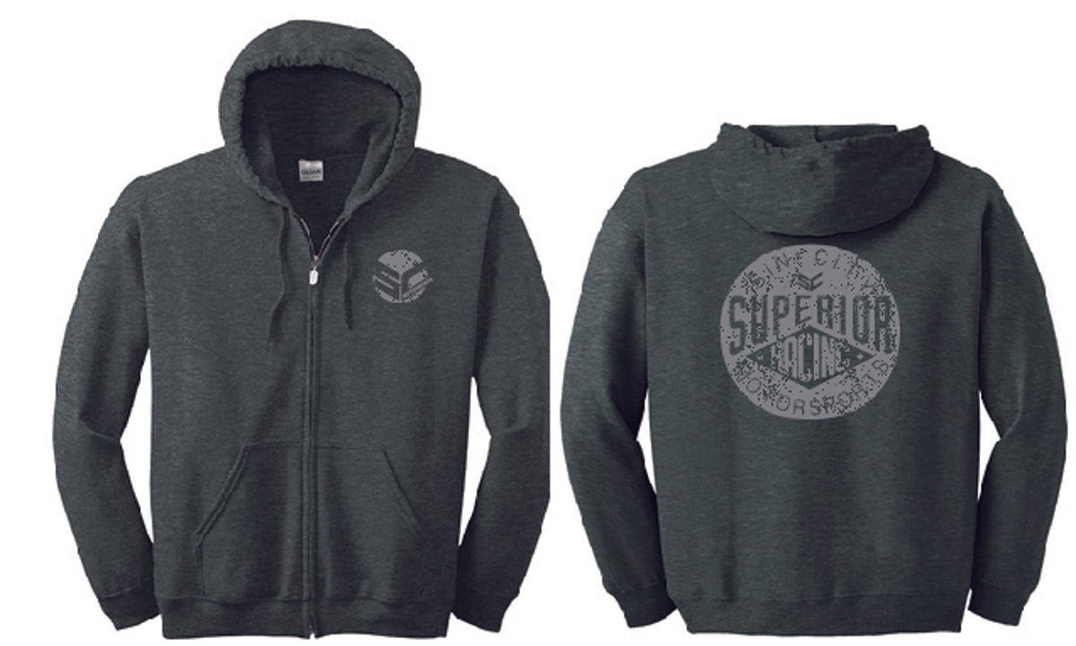 Superior Zip Sweatshirt