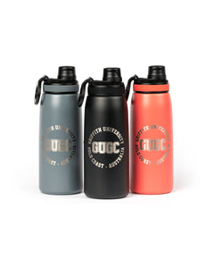 Griffith engraved stainless steel drink bottle