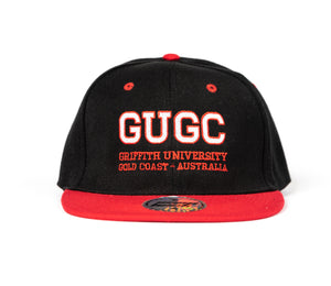 Griffith embroidered snap back cap
