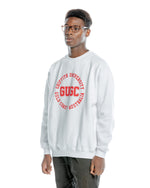 Load image into Gallery viewer, Griffith unisex white sweatshirt
