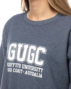 Griffith unisex navy sweatshirt