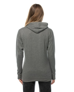 Women's fitted Griffith hoodie with embroidery
