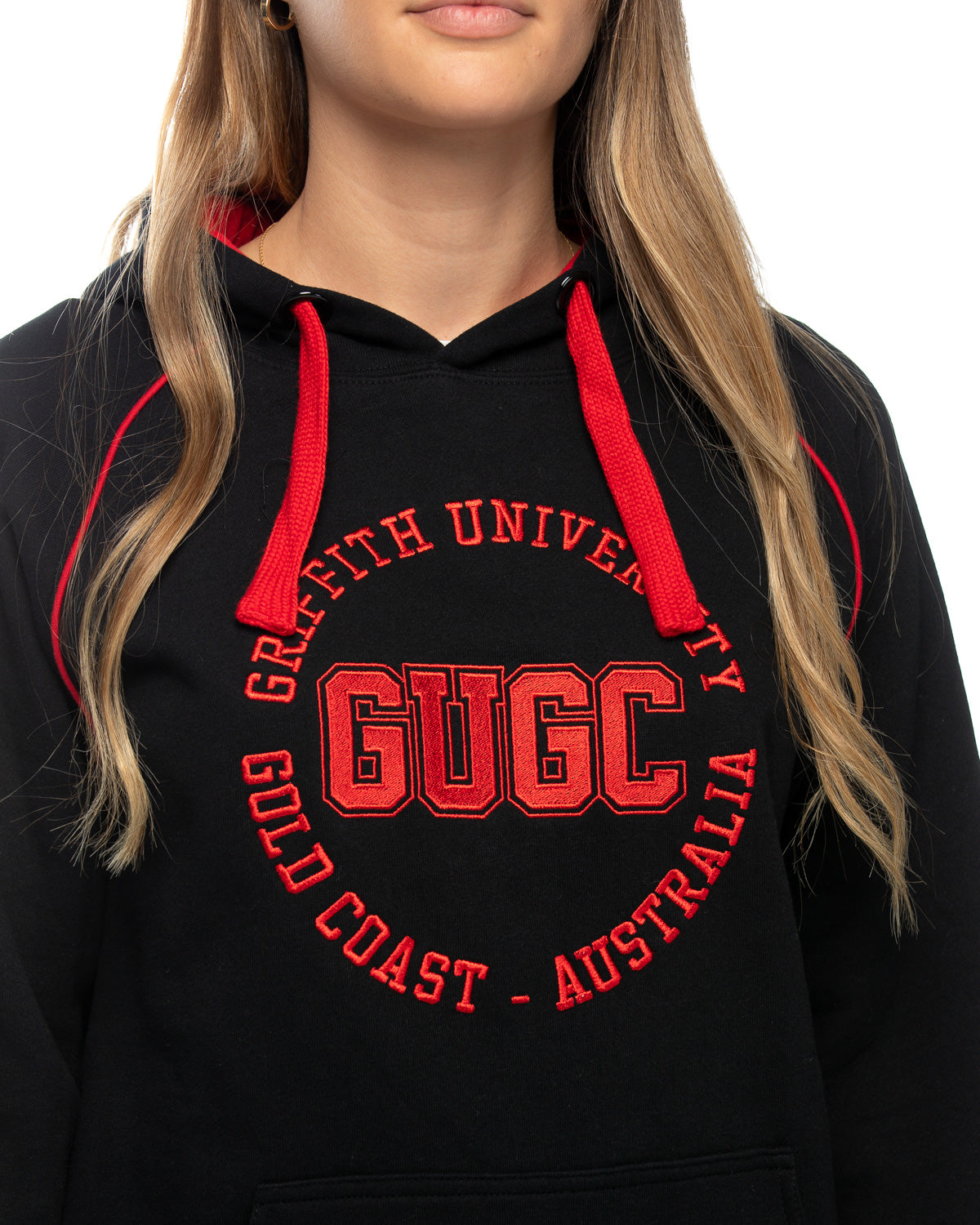 Griffith unisex embroidered hoodie