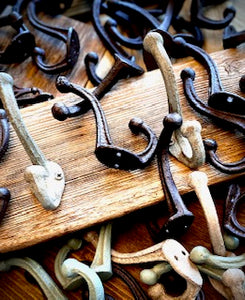 HOOKS WITH RECLAIMED BARN WOOD